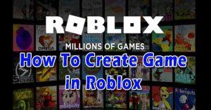 create roblox games