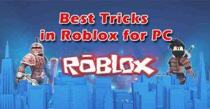 Roblox PC tricks