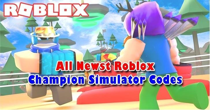 Roblox Champion Simulator Codes