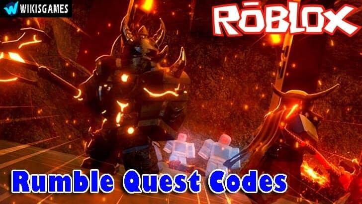 Roblox Rumble Quest Codes