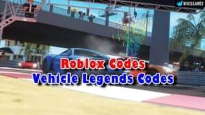 Roblox Vehicle Legends Codes List (Updated)
